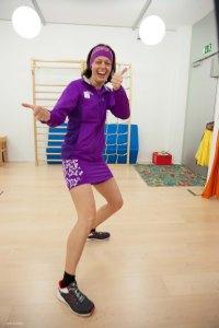 Patricia - immer eine läuferische Frohnatur :-)
